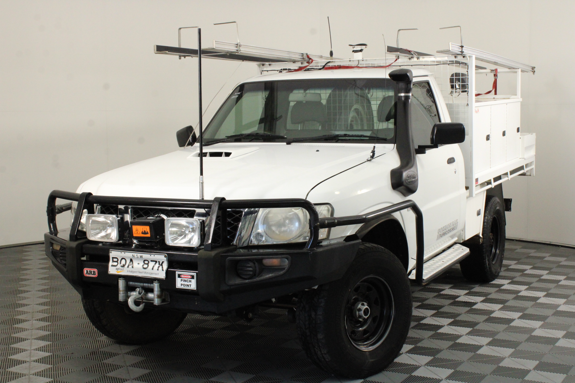 2011 Nissan Patrol DX (4x4) GU Turbo Diesel Manual Cab Chassis