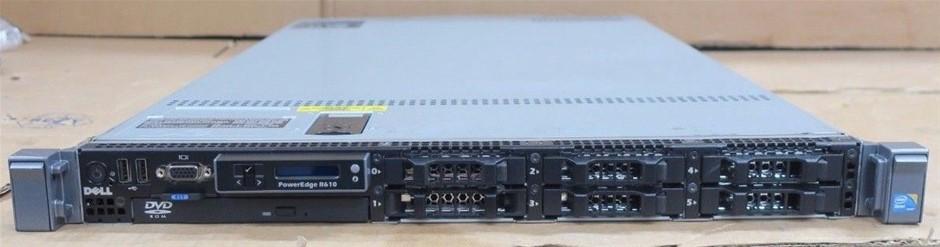 DELL R610 SERVER, 2x X5550, 192GB, 5.4 TB