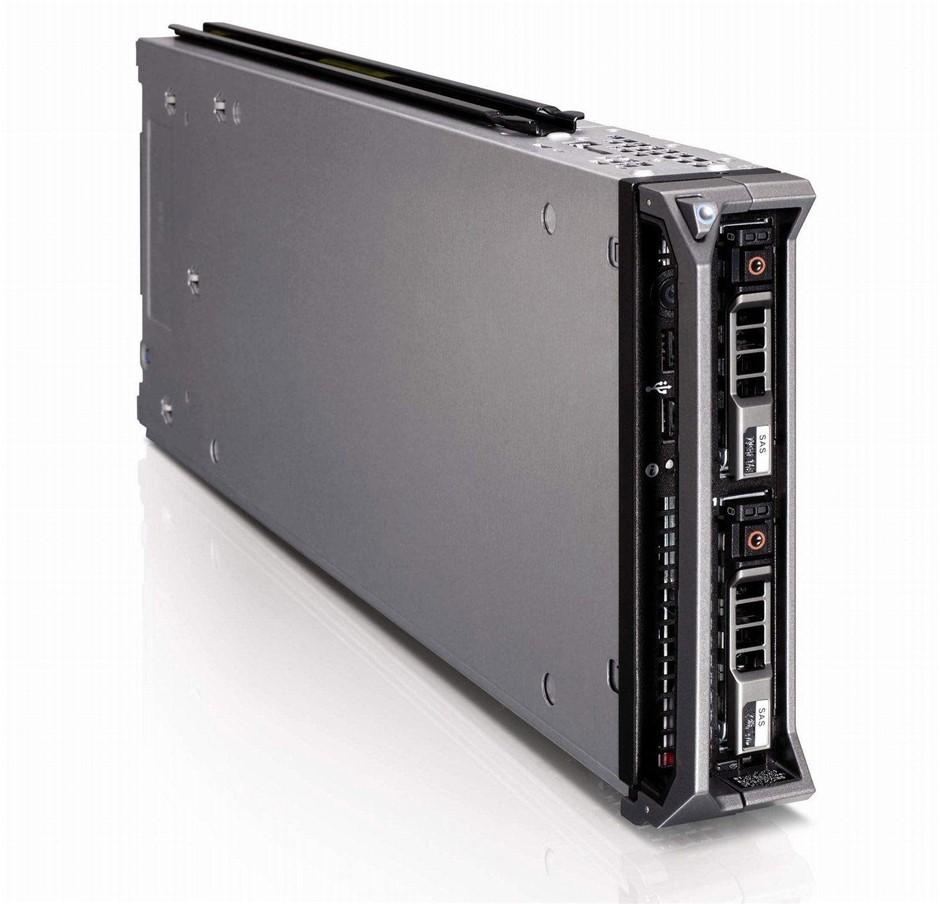 DELL M610 SERVER, 2x X5560, 96GB, 0.6 TB