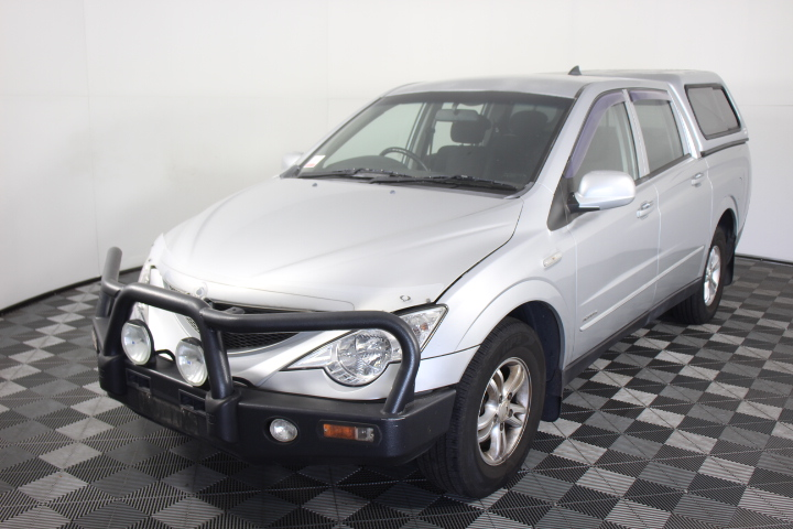 2008 Ssangyong Actyon Sports 4X4 BASE Turbo Diesel Manual Dual Cab
