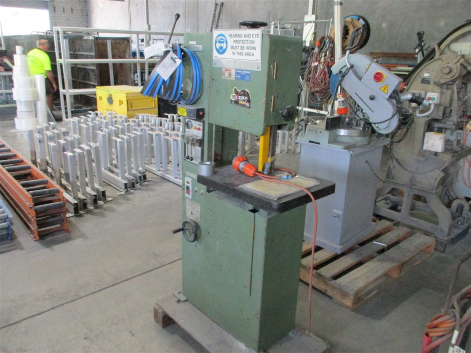 Hafco Vertical Band Saw