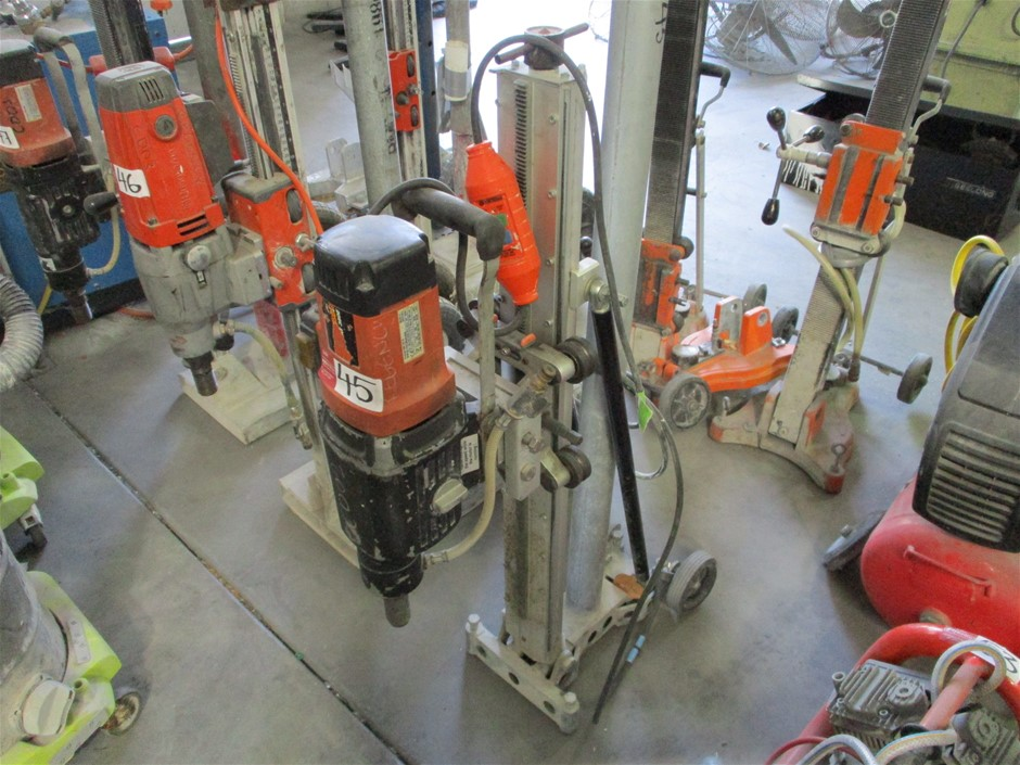 Core Drill and Adjustable Stand