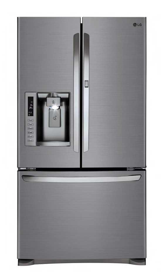 LG 613L Stainless Steel Door-In-Door French Door Refrigerator (GF-D613PL)