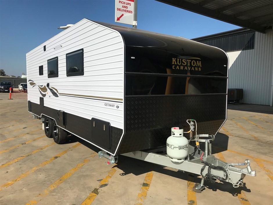 2019 Kustom Getaway 23ft Caravan (Pooraka, SA)