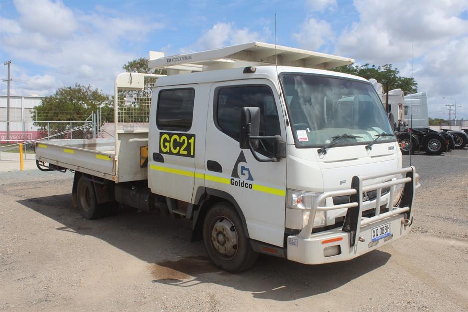 2011 Mitsubishi Canter 7/800 4 x 2 Tray Body Truck