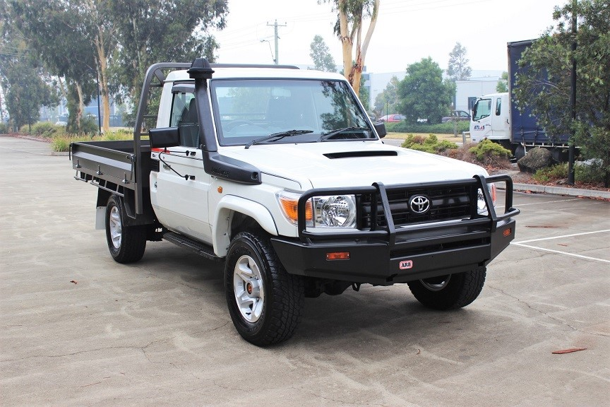 2011 Toyota Landcruiser V8 Cab Chassis Turbo Diesel 4WD Manual Cab Chassis