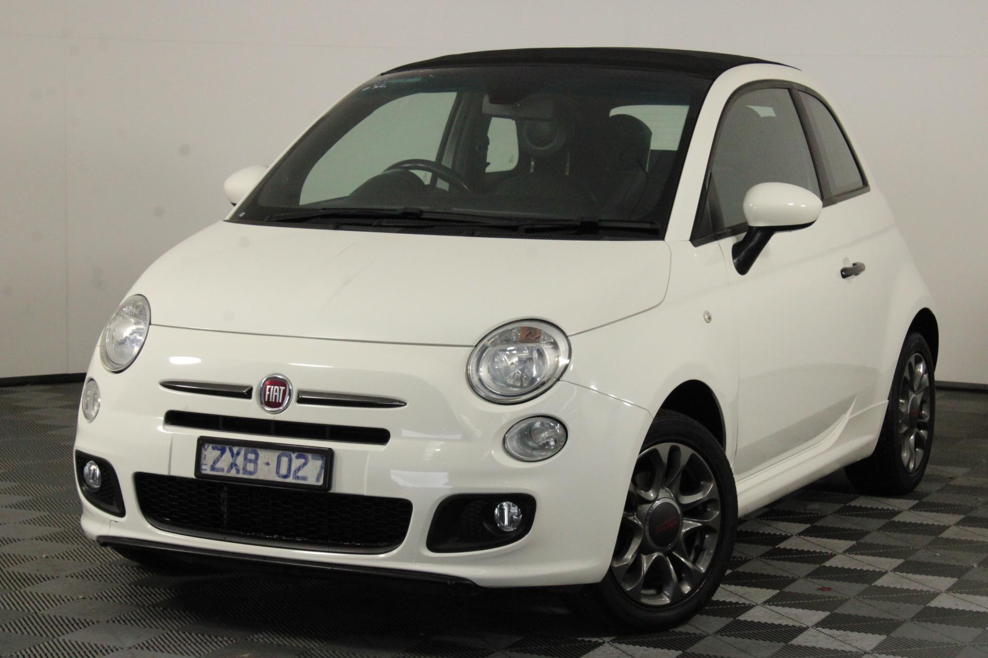2013 Fiat 500 C S Sports Auto Convertible