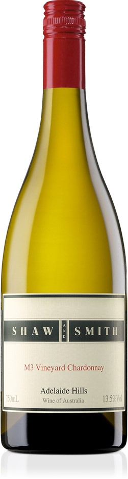Shaw & Smith M3 Chardonnay 2018 (6 x 750mL), Adelaide Hills, SA.
