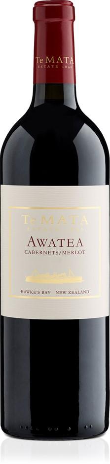 Te Mata Awatea Cabernet Merlot 2017 (6 x 750mL), Hawke's Bay, NZ.