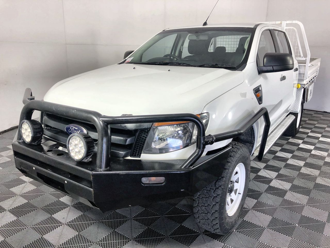2012 Ford Ranger PX XL 4X4 Turbo Diesel Auto Dual Cab Chassis