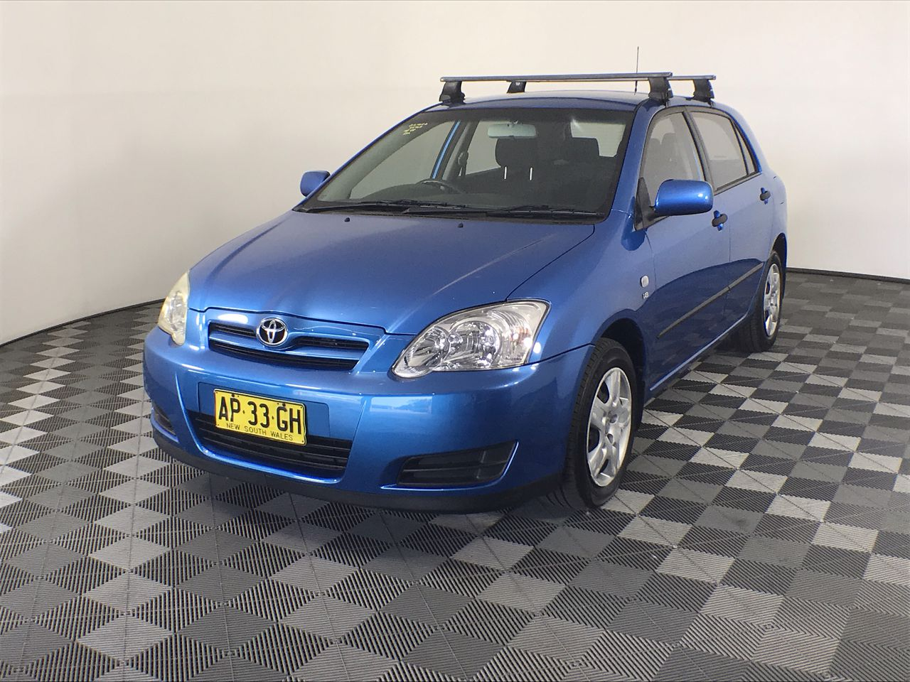 2007 Toyota Corolla Ascent Seca ZZE123R Automatic Hatchback