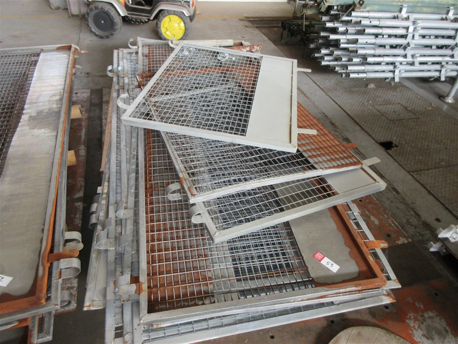 Scaffold Fencing Panels