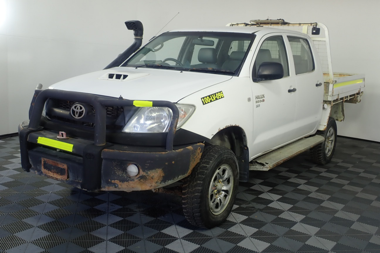 2010 Toyota Hilux SR (4x4) Turbo Diesel Manual Crew Cab Chassis