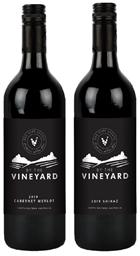 By The Vineyard Mixed Pack Cabernet Merlot & Shiraz 2019 (12x 750mL). SEA.