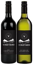 By The Vineyard Mixed Pack Cab Merlot & Sem Sauv Blanc 2019 (12x 750mL)