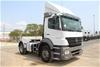 2008 Mercedes Benz Axor Auto T/Diesel Prime Mover Truck (Ex Fleet)