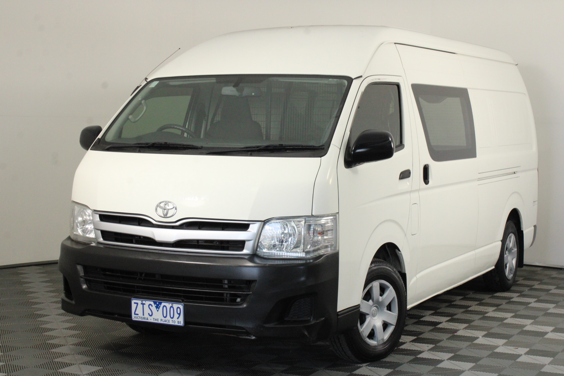 2013 Toyota HiAce SUPER LWB KDH221R Turbo Diesel Automatic Van