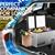 Kolner 80L Portable Fridge Freezer Cooler Camping Stainless Steel