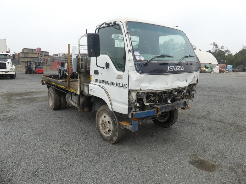 1999 Isuzu NPS 300 4 x 2 Tray Body Truck