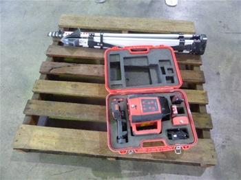 Extreme A3MK11 Rotary Laser Level Kit