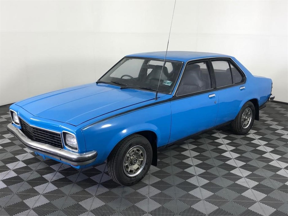 Original Holden Torana SLR Factory Azura Blue, Factory Manual, Matching No.