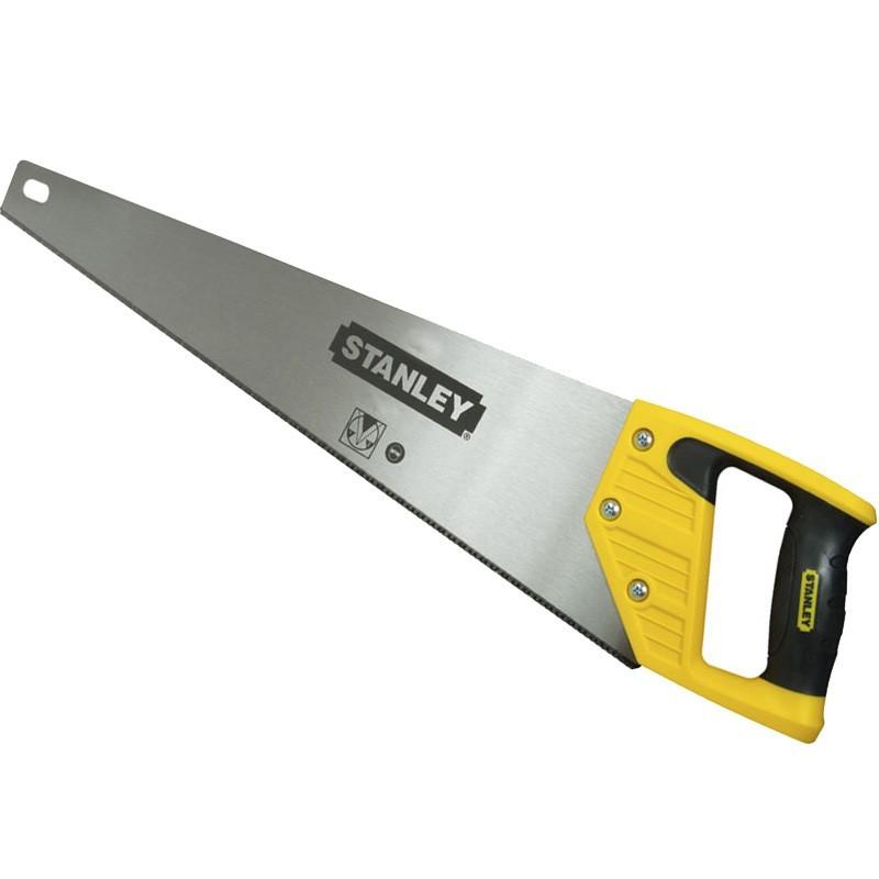 2 x STANLEY 550mm Sharpcut Hand Saws 7TPI. (SN:1-20-091-K2) (268606-182)
