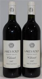 Lake's Folly Cabernets Cabernet Blend 1997 (2x 750mL), Hunter. Cork.