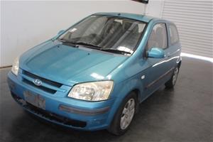 2003 (2004) Hyundai Getz XL TB Automatic
