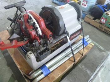 "Asada Beaver 80 3"" Pipe Threading Machine"