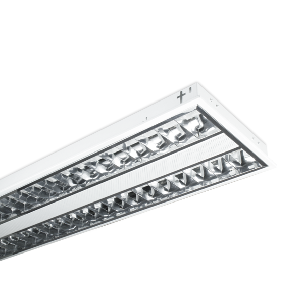 FL1730 - Fuzion Lighting - Box With 2 - Troffer Louvered Twin T5 - 28W - 6K