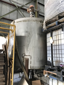 Large 6 Tonne Stainless Steel Storage Ta