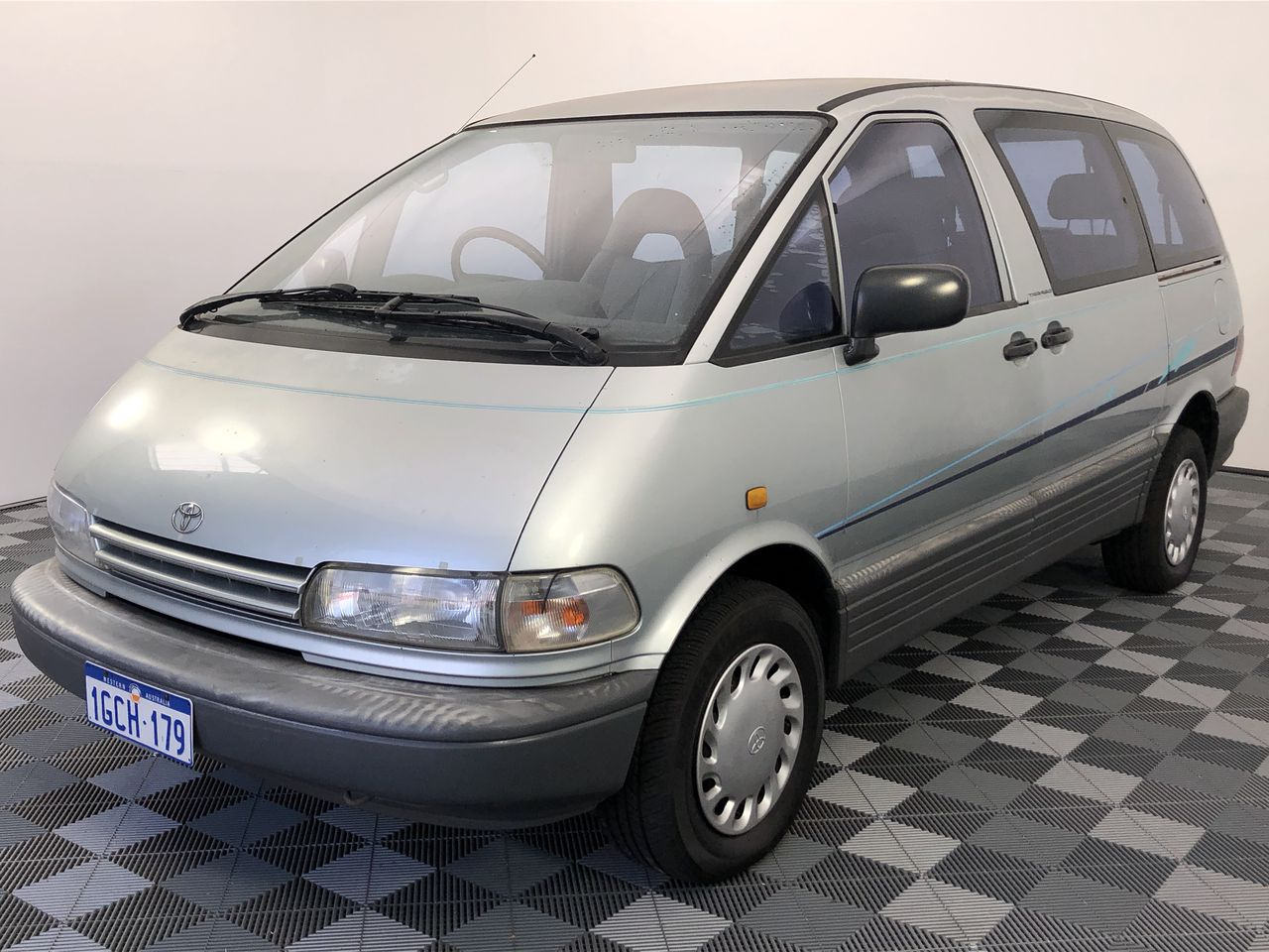 1993 Toyota Tarago GLI TCR10 Manual 7 Seats People Mover