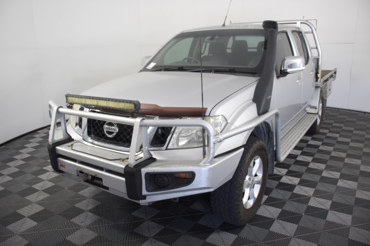 2010 Nissan Navara ST-X (4x4) D40 Turbo Diesel Automatic Dual Cab
