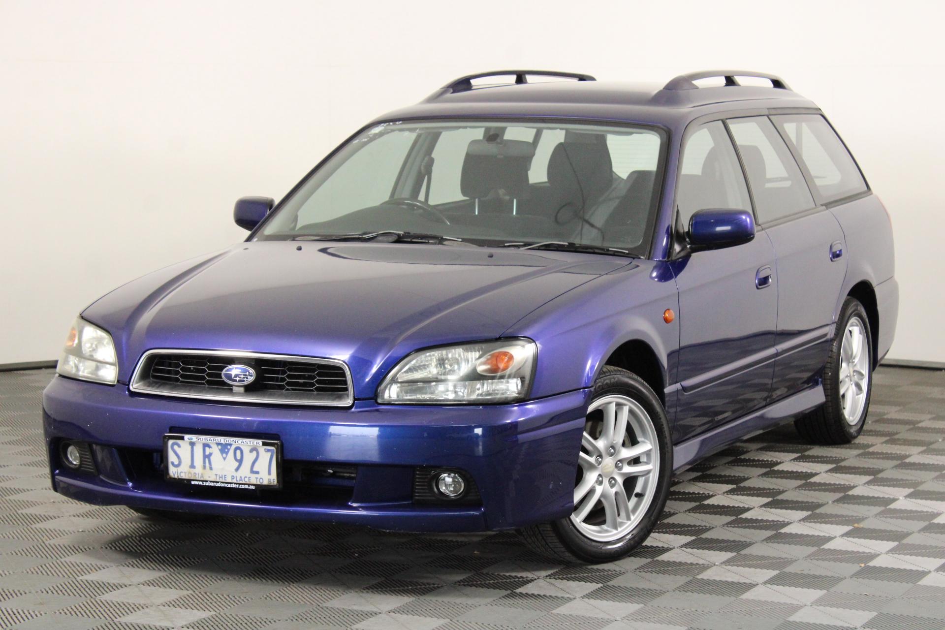 2002 Subaru Liberty RX B3 Automatic Wagon