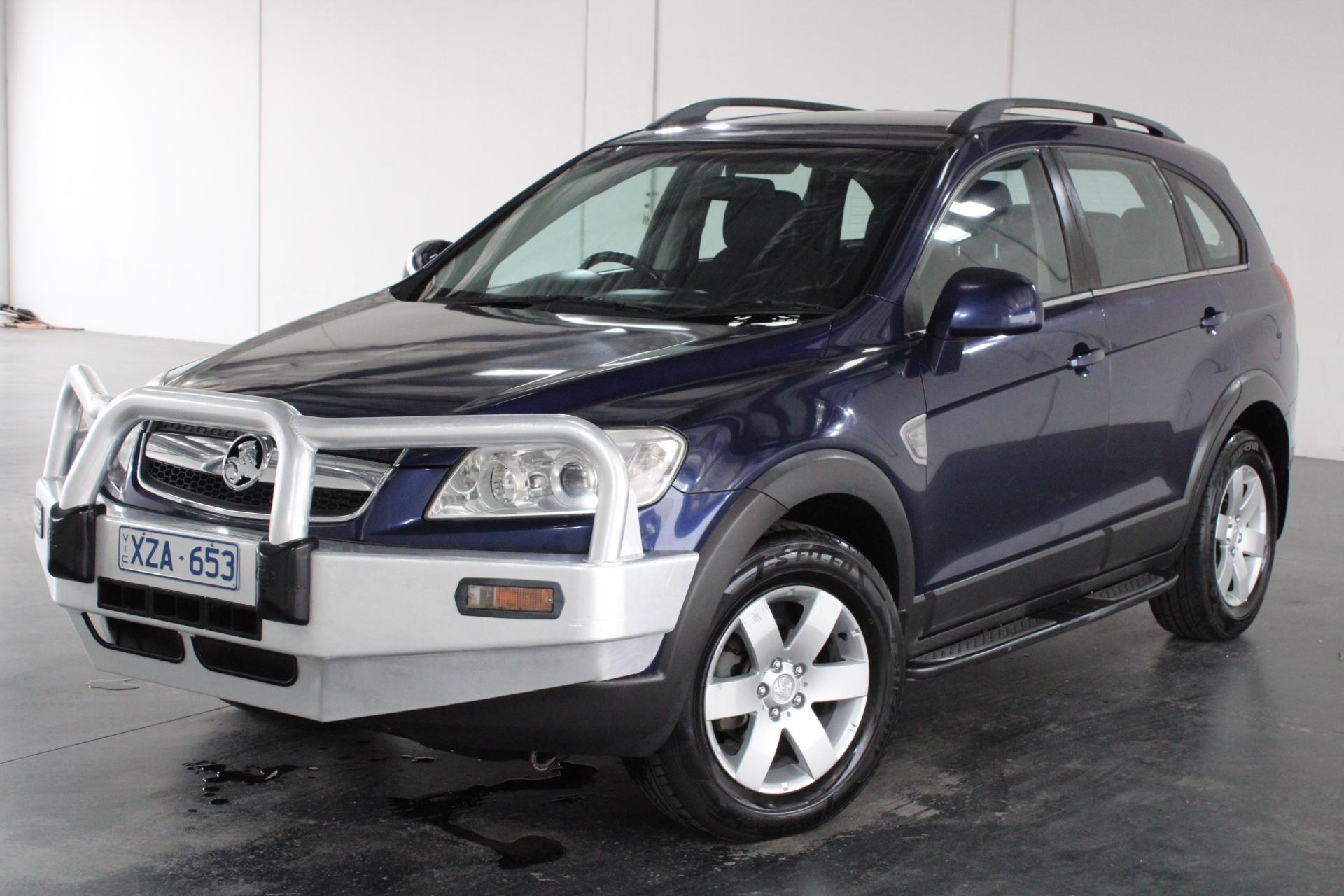 2008 Holden Captiva CX (4x4) CG Turbo Diesel Automatic 7 Seats Wagon