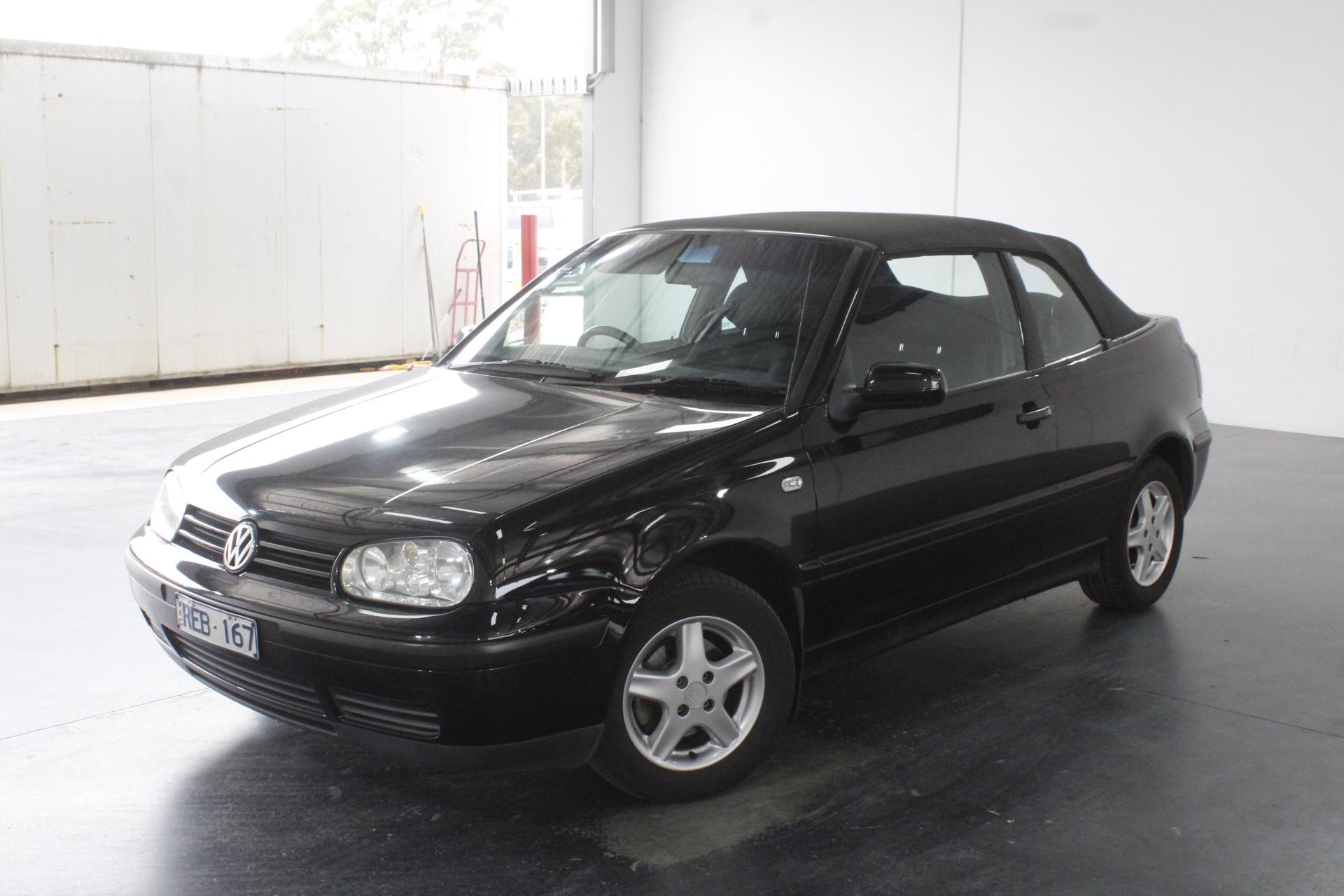 2001 Volkswagen Golf GL Manual Convertible