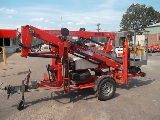 Trailer Mounted Boom 10.2m - 2009 NIFTY 120TPE