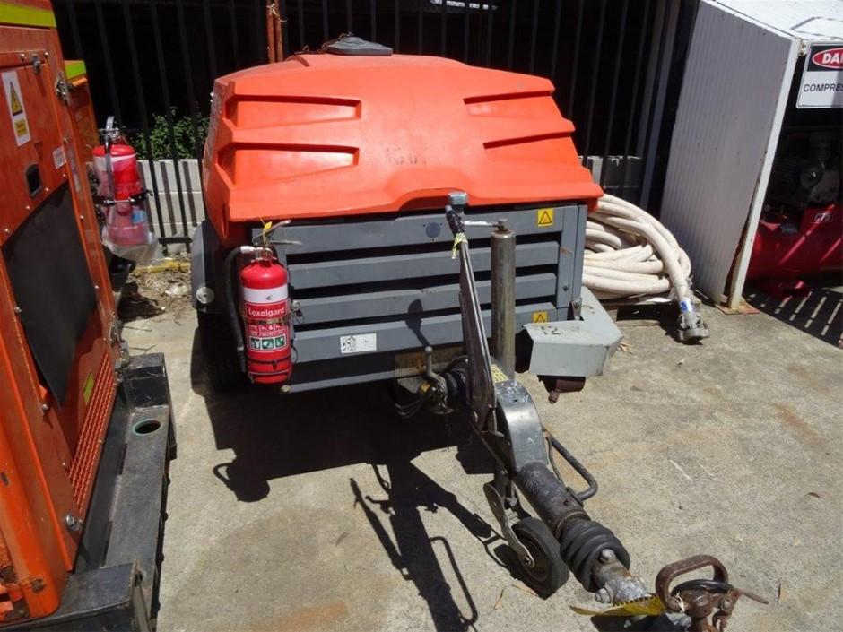 Compressor 130CFM (Diesel) - 2009 ATLAS COPCO