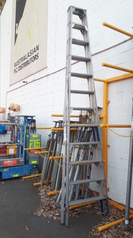 Ladder - Step Aluminium 3.6M - LADAMAX DS122