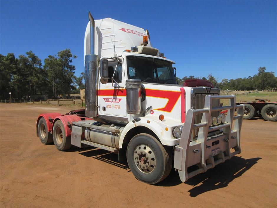 2007 Western Star 4800FX 6 x 4 Prime Mover
