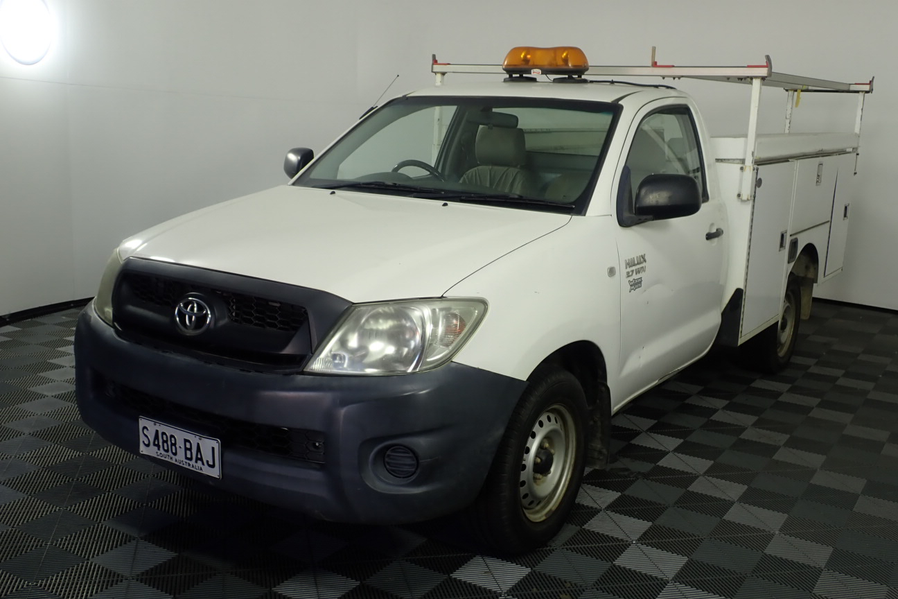 2008 Toyota Hilux Workmate Manual Cab Chassis