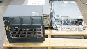 Pallet of Assorted Brand Servers and Net