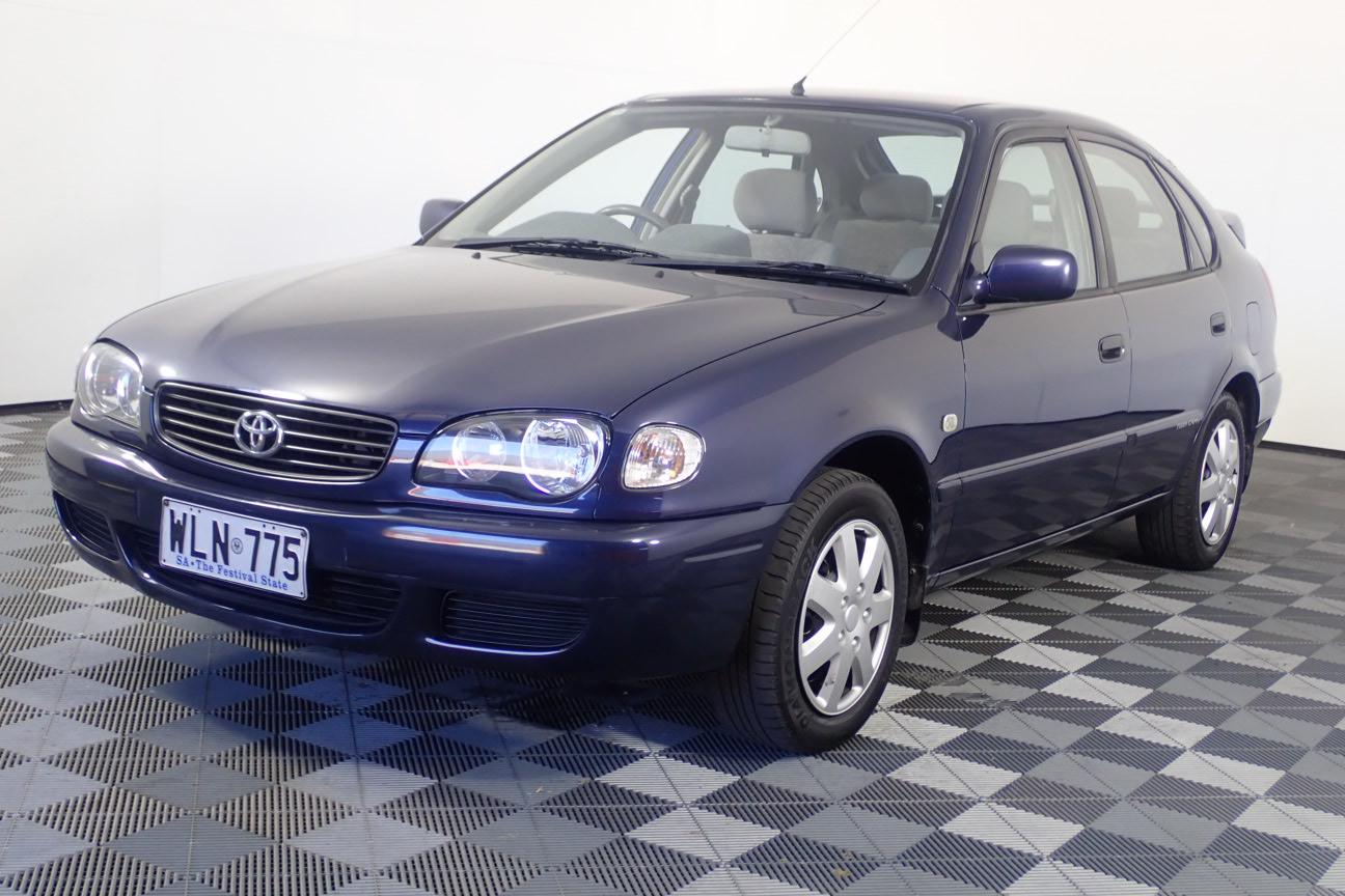 2000 Toyota Corolla Conquest Seca Manual Hatchback