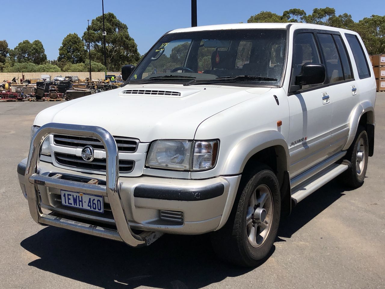 2002 Holden Jackaroo SE LWB (4x4) Turbo Diesel Automatic 7 Seats Wagon