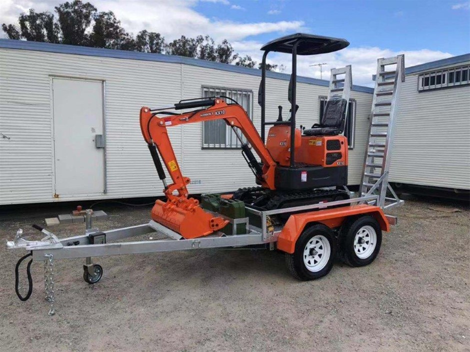 NEW - 2019 KOBOLT MINI EXCAVATOR PACKAGE