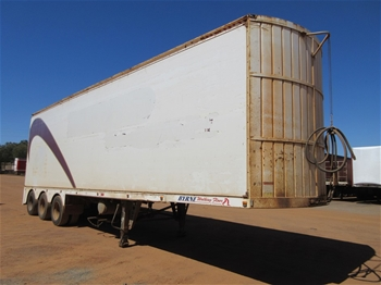 2008 Byrne 39' Triaxle Walking Floor Trailer