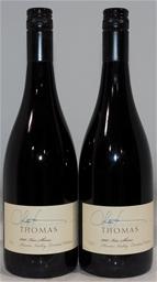 Thomas Wines Kiss Shiraz 2007 (2x 750mL), Hunter. Cork closure.