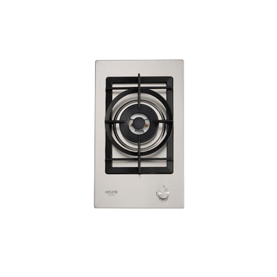 Euro 30cm Domino Single Wok burner gas cooktop, Model: EMJG30WSX