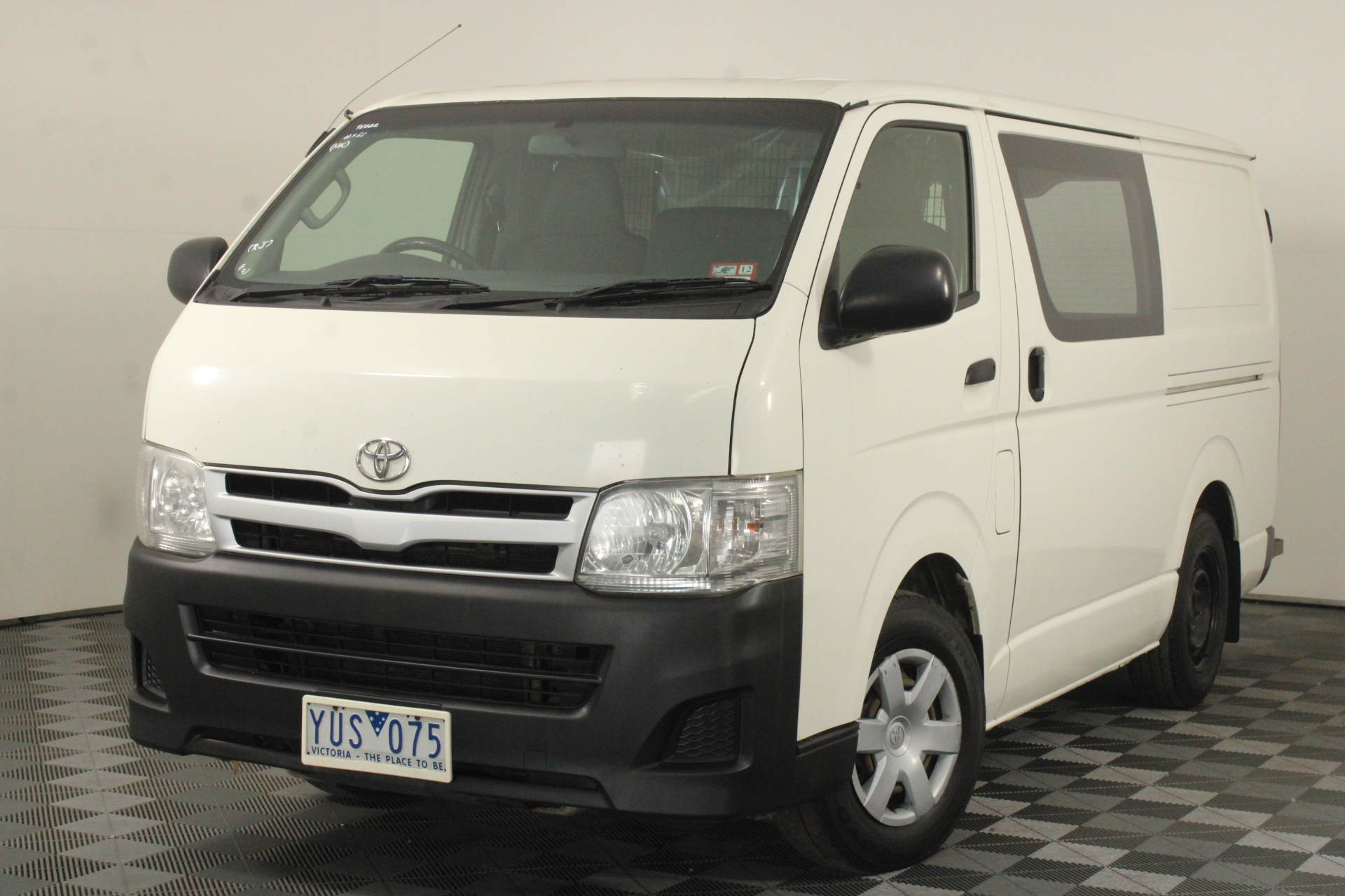 2011 Toyota HiAce LWB KDH201R Turbo Diesel Automatic Van
