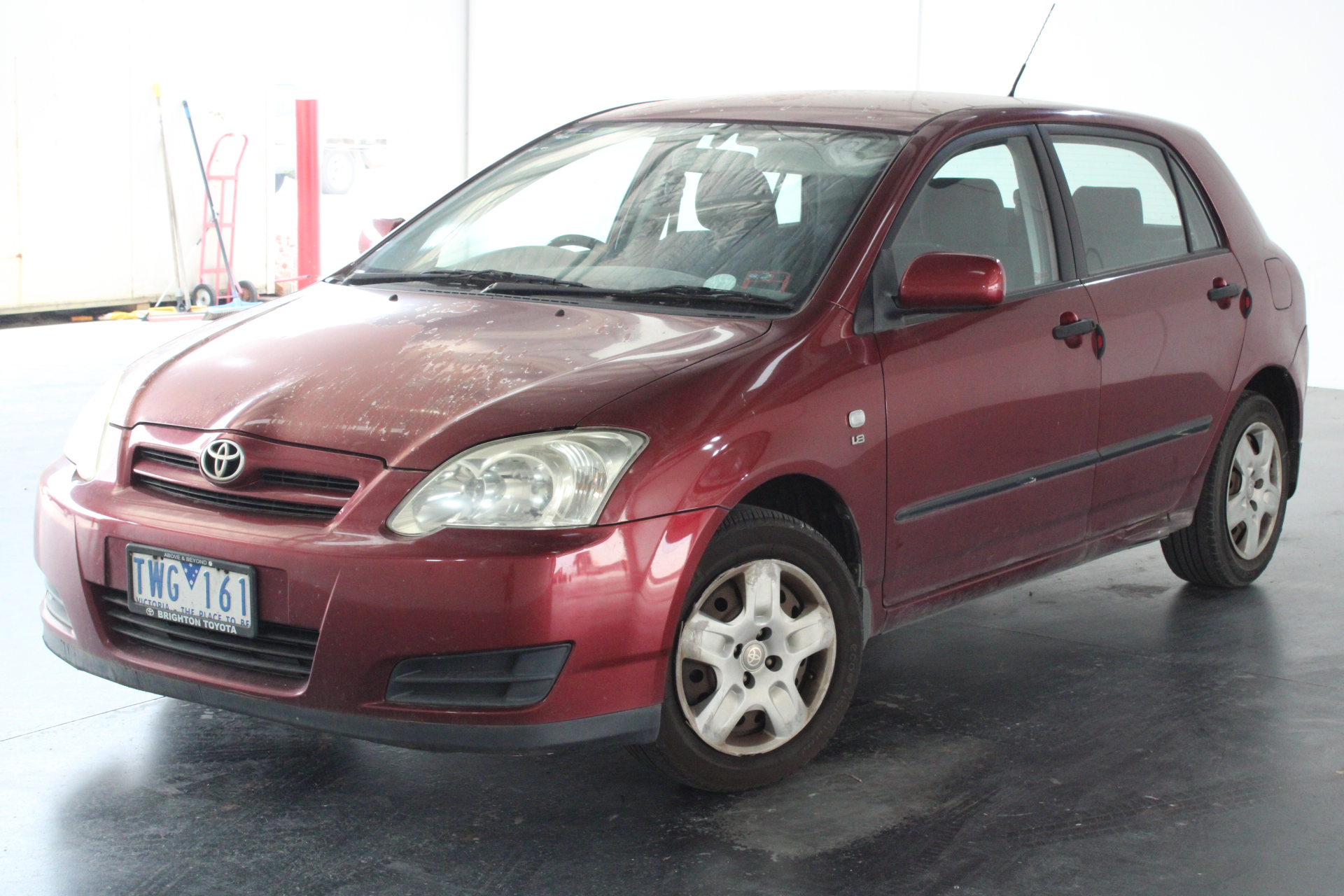 2005 Toyota Corolla Ascent Seca ZZE123R Manual Hatchback